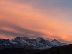 Vue sur l'Eiger et la Jungfrau