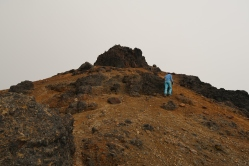 Derniers mètres avant d'atteindre le sommet