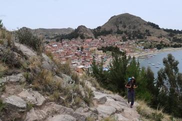 Montée au Cerro Calvario
