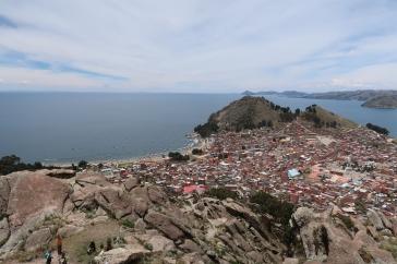 Vue du Cerro Calvario du Cerro Kesanani