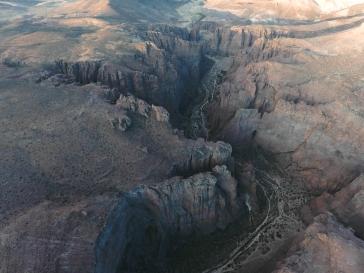 Le canyon de Piedra Parada. Photo : @chanchitabus