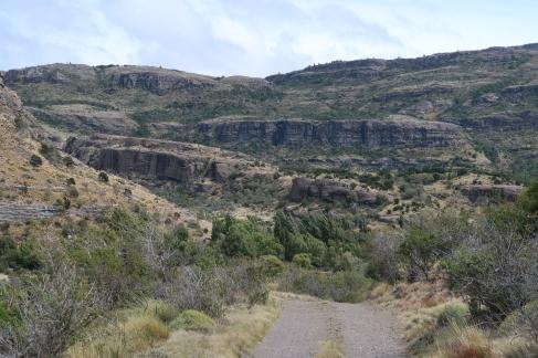 Les falaises de El Maitenal