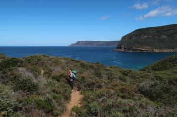 Marche d'approche de Paradiso et Mount Braun
