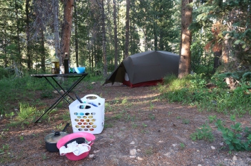 Notre premier site de camping sauvage