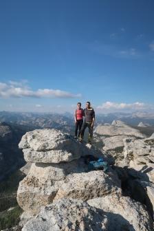au sommet du Tenaya Peak